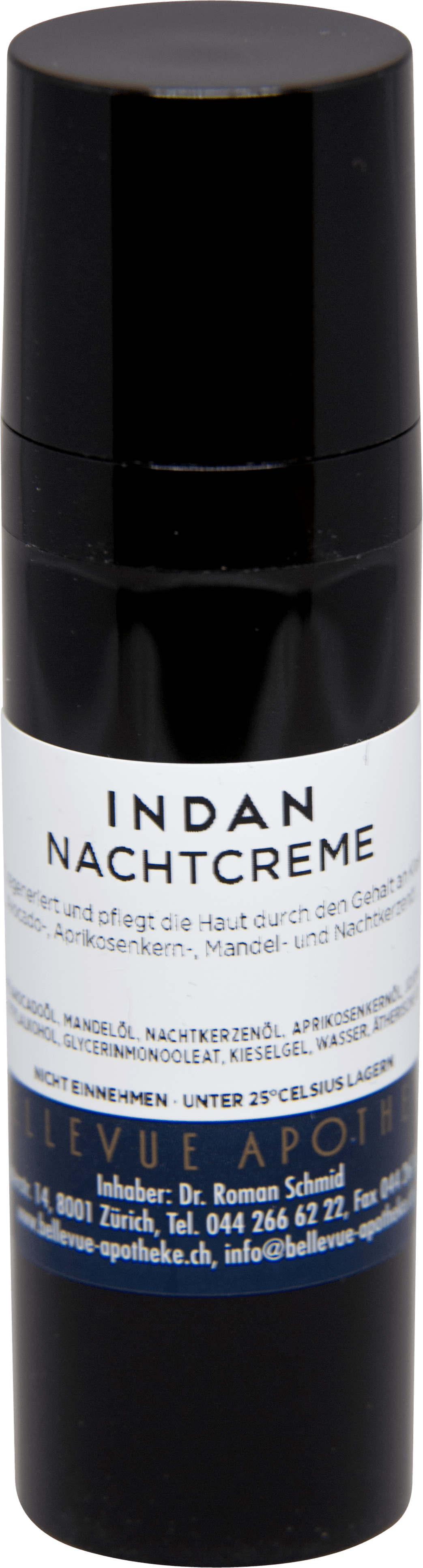 INDAN Nachtcreme · Bellevue Apotheke Zürich
