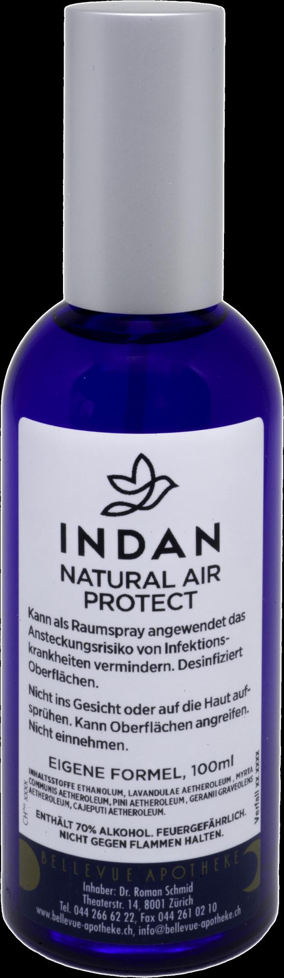 INDAN Natural Air Protect · Bellevue Apotheke Zürich